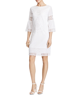 Lauren Ralph Lauren Karalie Lace Trim Dress