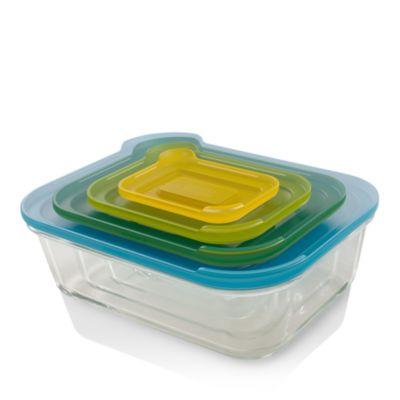 $Joseph Joseph 8-Piece Nest Glass Storage Ovenware - Bloomingdale's