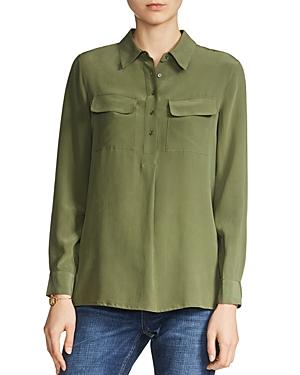 Maje Liege Silk Shirt