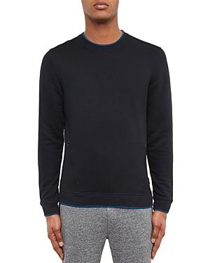 Ted Baker Textured Panel Sweatshirt