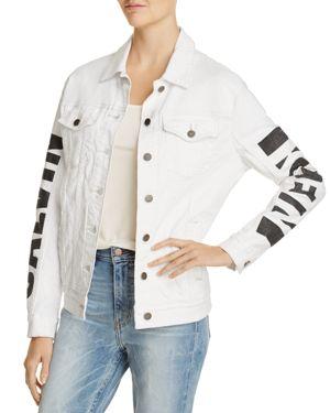 Calvin Klein Jeans Denim Logo Trucker Jacket