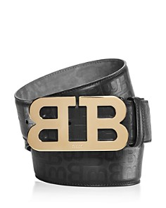 Bally Mirror B Buckle Stamped Belt - Bloomingdale's_0