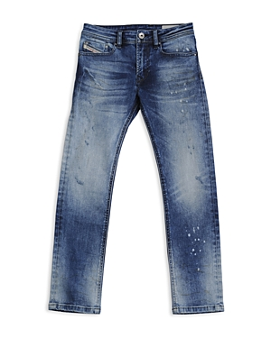 Diesel Boys Waykee Straight Jeans  Big Kid