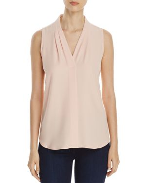 Calvin Klein V-Neck Sleeveless Blouse