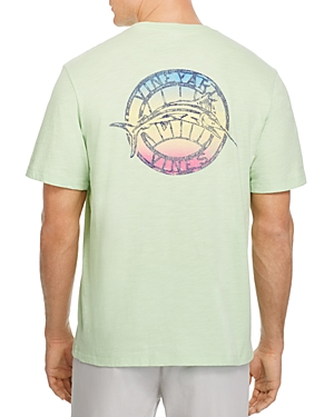 Vineyard Vines Gradient Marlin Pocket Tee