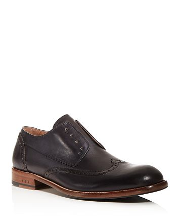 John Varvatos Star USA - Waverly Laceless Wingtip Derby Shoes