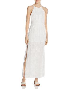 Aqua Embroidered Maxi Dress - 100% Exclusive