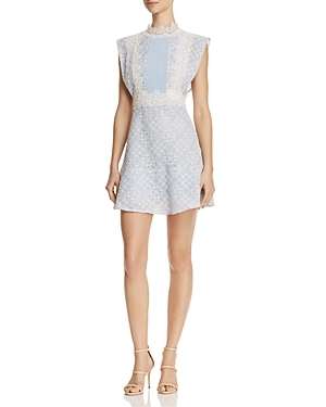 Sandro Peaches Lace Dress