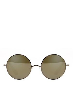 Women's Mott Mirrored Round Sunglasses