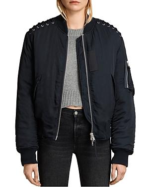 Allsaints Bree Laced Bomber Jacket