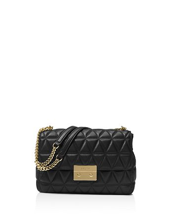 cb4be6876 MICHAEL Michael Kors - Sloan Chain Quilted Extra-Large Leather Shoulder Bag