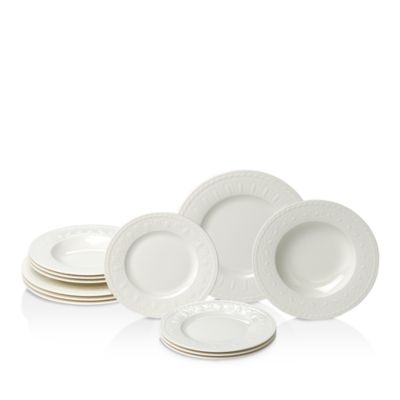 pdpImgShortDescription  sc 1 st  Bloomingdaleu0027s & Villeroy u0026 Boch Cellini 12-Piece Dinnerware Set | Bloomingdaleu0027s