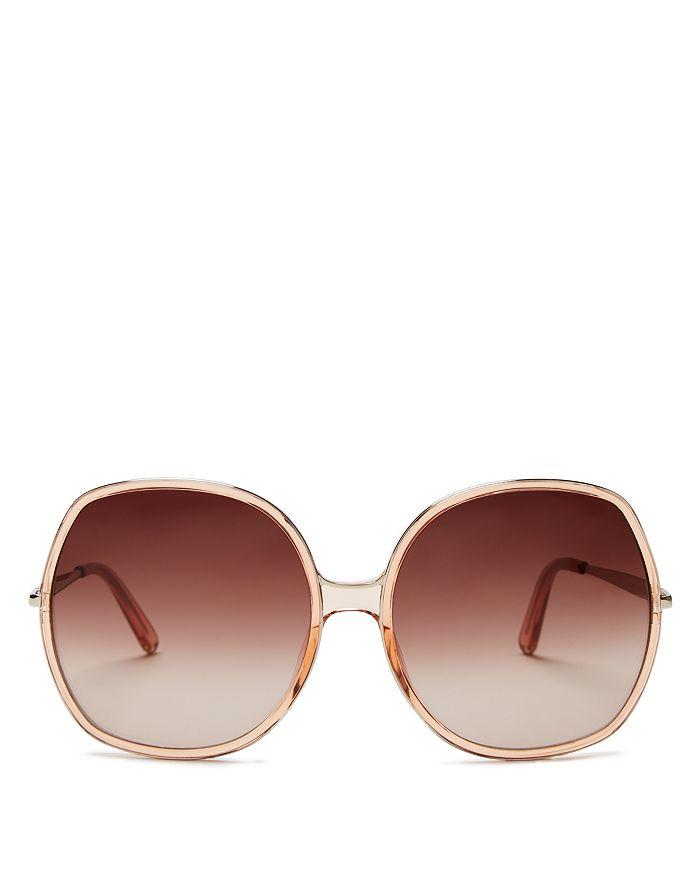 Chloé - Women's Oversized Square Nate Sunglasses, 62mm