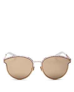 Dior - Women's Symmetrics Mirrored Round Sunglasses, 59mm