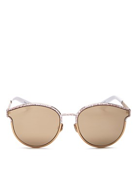 Dior - Women's Symmetrics Mirrored Round Sunglasses, 59mm