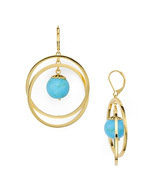 kate spade new york Orbital Drop Earrings