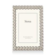 """Siena Silver Braid Frame, 5"""" x 7"""" - Bloomingdale's_0"""