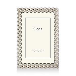 Siena Silver Braid Frame, 5 x 7