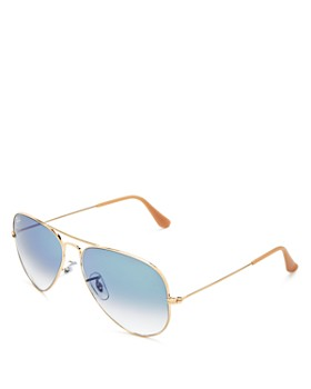 Ray-Ban - Unisex Original Brow Bar Aviator Sunglasses, 62mm