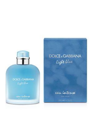 DOLCE & GABBANA Light Blue Eau Intense Pour Homme 6.7 Oz/ 200 Ml Eau De Parfum Spray