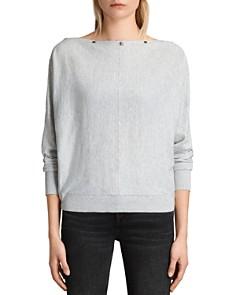 ALLSAINTS - Elle Snap-Detail Sweater