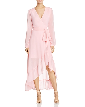 Wayf Only You Ruffle Wrap Dress - 100% Exclusive
