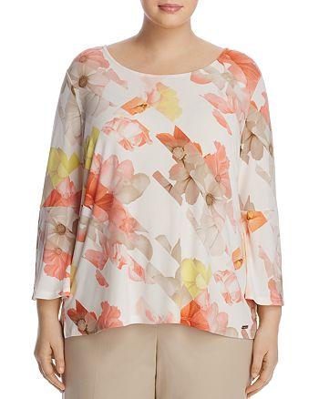 Calvin Klein Plus - Floral Print Top