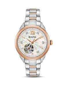 Bulova Two-Tone Automatic Watch, 34.5mm - Bloomingdale's_0