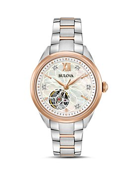 Bulova - Two-Tone Automatic Watch, 34.5mm