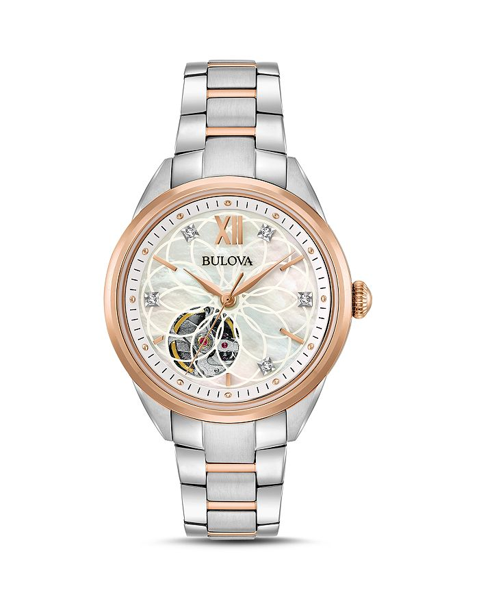 Bulova - Two-Tone Automatic Watch, 34.5mm