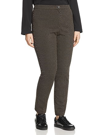 Marina Rinaldi - Oboista Printed Jersey Pants