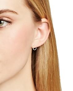 MATEO - 14K Yellow Gold Huggie Hoop Earrings
