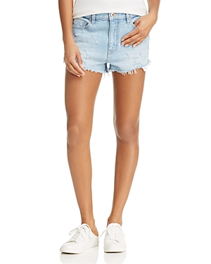 Pistola Winston Star Denim Shorts in Star Struck