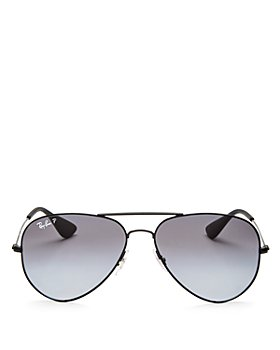 Ray-Ban - Unisex Polarized Aviator Sunglasses, 58mm