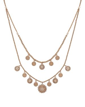 Marchesa Two Row Necklace, 25