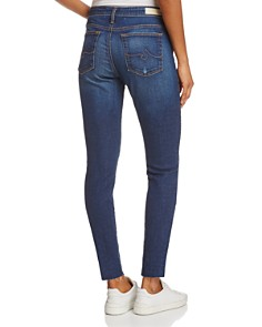 AG - High-Rise Skinny Ankle Jeans in Blaker - 100% Exclusive
