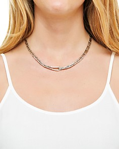 """JOHN HARDY - Sterling Silver Bamboo Necklace, 17"""""""