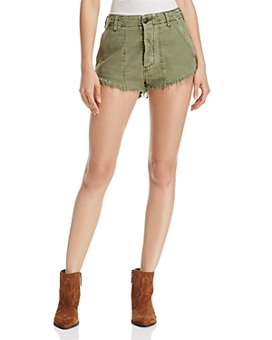 Free People Cotton Cutoff Shorts