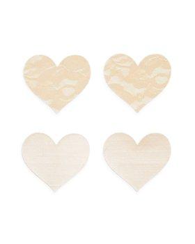 B-SIX - Nippies Basics Heart Pasties