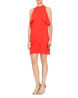 ALDRIDGE CROSSOVER-FLUTTER DRESS