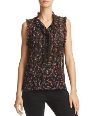 Joie Anathalia Floral Print Silk Top - 100% Exclusive