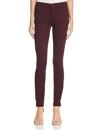 J Brand - Luxe Sateen 485 Super Skinny Jeans – 100% Exclusive
