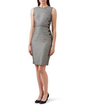 Hobbs London Juliet Linen Dress 2546137