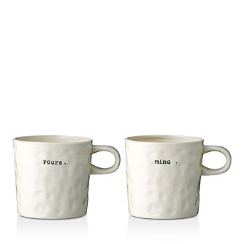 Bloomingville - Mine/Yours Mug, Set of 2