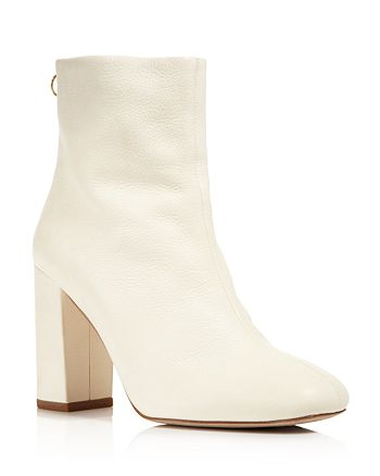 Joie - Women's Saleema Leather Block Heel Booties