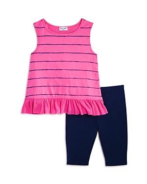 Splendid Girls' Striped Tunic & Leggings Set - Baby