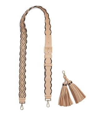 kate spade new york Mix It Up Woven Tassel Handbag Strap