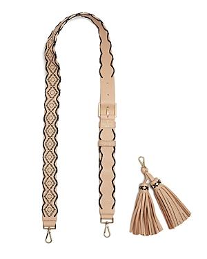 kate spade new york Mix It Up Woven Tassel Handbag Strap