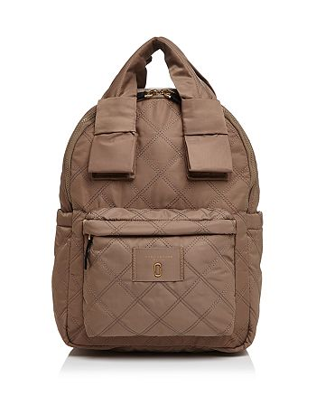 MARC JACOBS - Knot Large Quilted Nylon Backpack