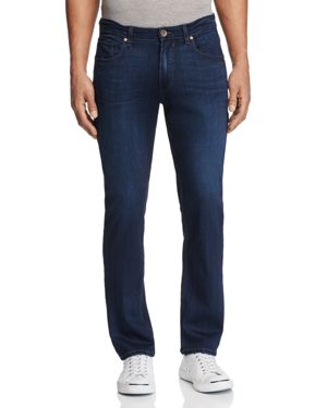 Paige Federal Slim Fit Jeans in Barron